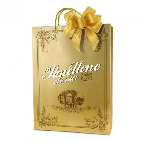 Classic panettone - Gold - Shopper bag - 750g