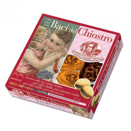 Baci del Chiostro - Cookies - Jumbo Window Box - 380g